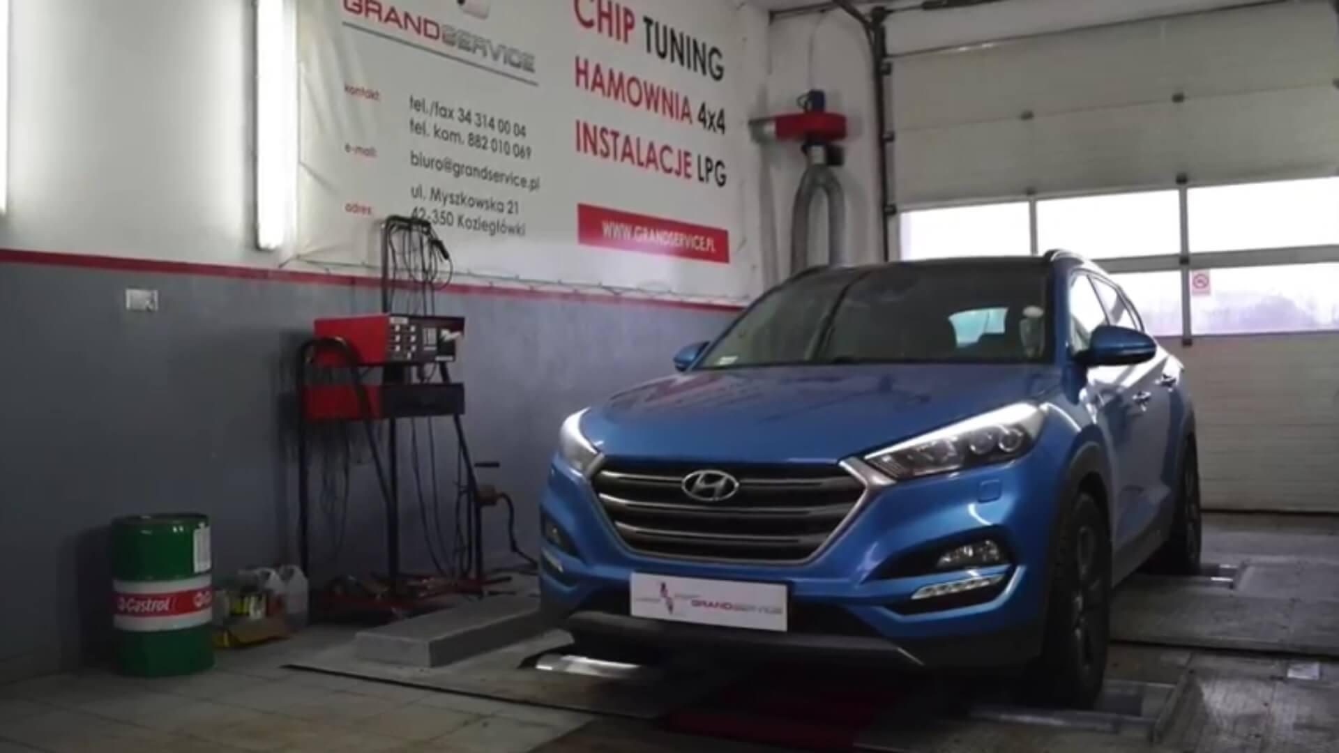 Hyundai Tucson 1.6 TGDI z LPG - imponujący przyrost momentu obrotowego po chip tuningu